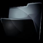 Скрытая папка черная