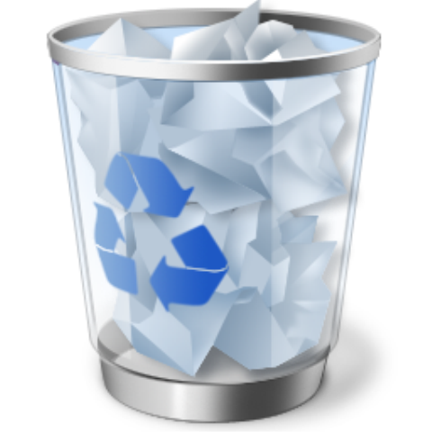 RecycleBinFull значок