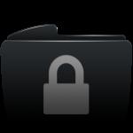 folder_black_lock