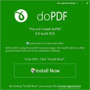 install dopdf
