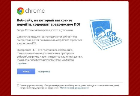 google вирус