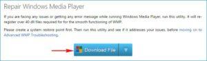 Fix WMP
